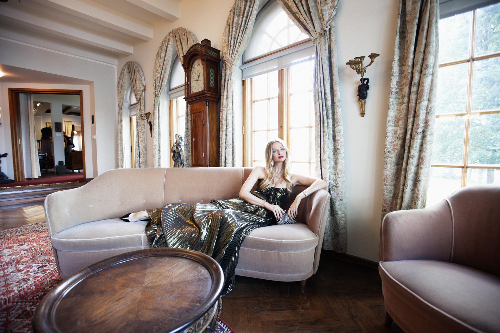 Sofia Ruutu OOTD Villa Gyllenberg